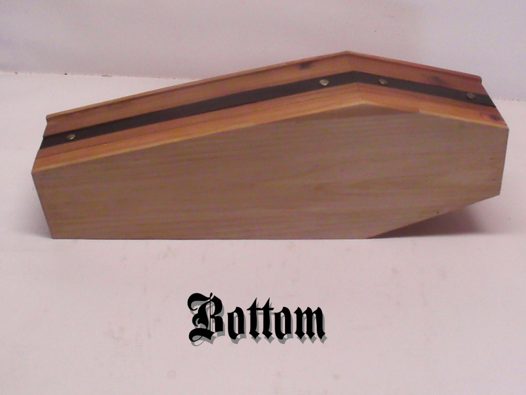 Victoria Coldwolf - Shop - Home of mini coffins, doll-sized coffin